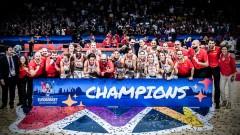 Баскетболистките на Испания с четвърта европейска титла
