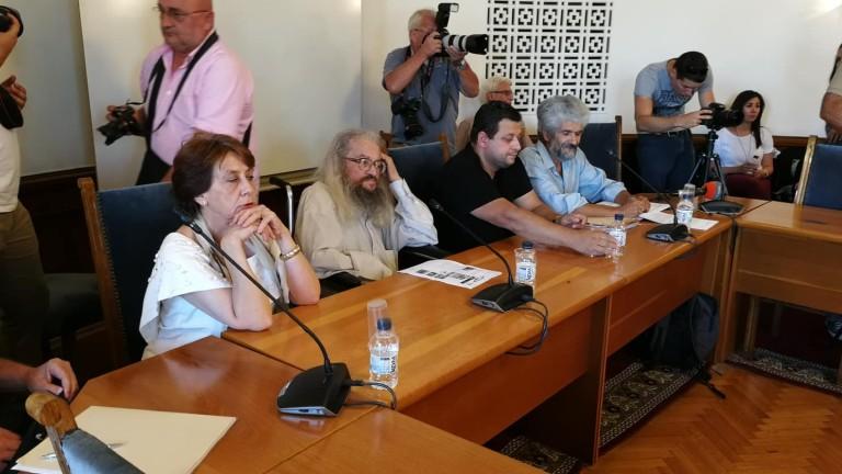 Николай Колев - Босия дойде на заседанието на Временната комисия