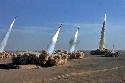 Иран изстреля ракети  Шахаб