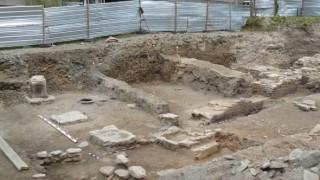 Правят паркинг върху антични руини в Стара Загора