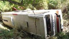 Автобус падна в пропаст в Перу