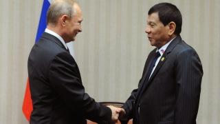 Дутерте обвини пред Путин Запада в лицемерие