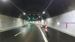 """Ограничават движението в тунел """"Витиня"""" за три часа тази нощ"""