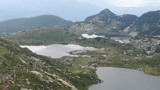 Туристи се изкъпаха в едно от Седемте рилски езера