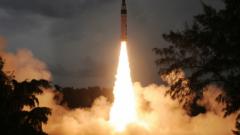 Индия тества стратегическа балистична ракета