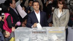 Енрике Пеня Нието спечели президентските избори в Мексико