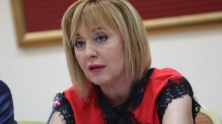 Мая Манолова няма да прави партия