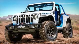 Jeep представи изцяло електрическия Wrangler Magneto