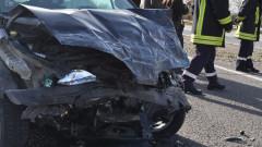 Петима пострадаха при катастрофи в Бургаско
