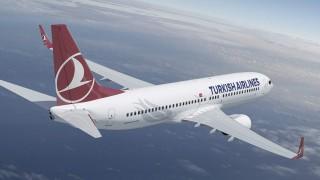 Авиокомпанията Turkish Airlines възобновява полетите си от и до София