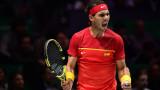 Световният №1 в тениса Рафаел Надал подкрепи тежко болно момиче