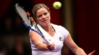 Ким Клайстърс си направи майтап с пишман тенисист на Уимбълдън