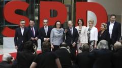 Германските социалдемократи разкриха шестимата си министри в новото правителство
