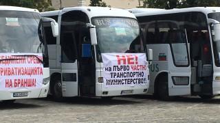 Превозвачи блокираха големите градове