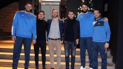Футболистите на Левски ще подкрепят баскетболния отбор в сряда