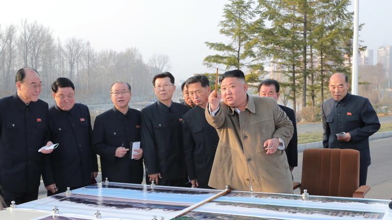 Инспекция на строеж попречи на Ким Чен-ун да наблюдава ракетните изпитания