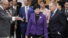 """""""Мийте си ръцете"""", призова кметът на Токио преди Олимпиадата"""