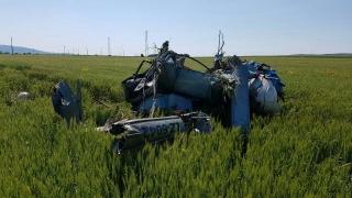 Хеликоптер падна край Несебър