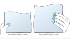 Sony патентова първи по рода си гъвкав екран с две лица