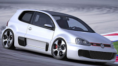 Volkswagen оборудва Golf с W12 двигател