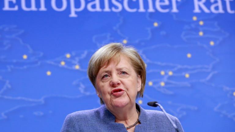 Канцлерът на Германия Ангела Меркел съобщи, че лидерите на ЕС