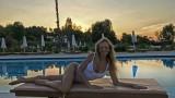Малина релаксира в Гърция