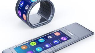 Вижте огъващ се смартфон, който се носи като гривна