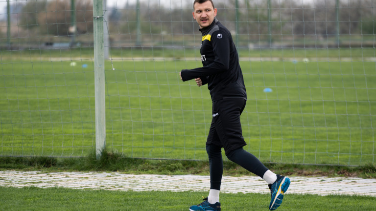 Тодор Неделев започна бегови упражнения