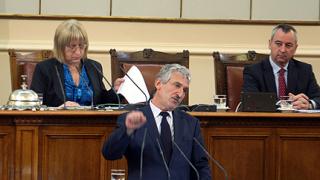 В ГЕРБ недоволни от ветата на Първанов