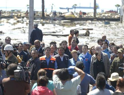 12 са загиналите при труса в Чили