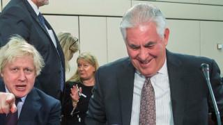 Тилърсън успокоява Европа, че САЩ няма да се намесва в търговията ѝ с Иран