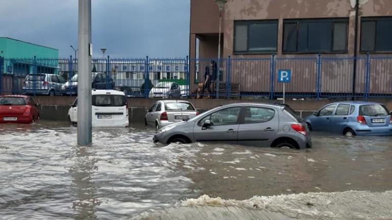 60 л. дъжд на квадратен метър в Хасково