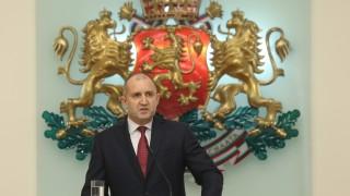 Румен Радев настоя институциите да защитят българите в РС Македония