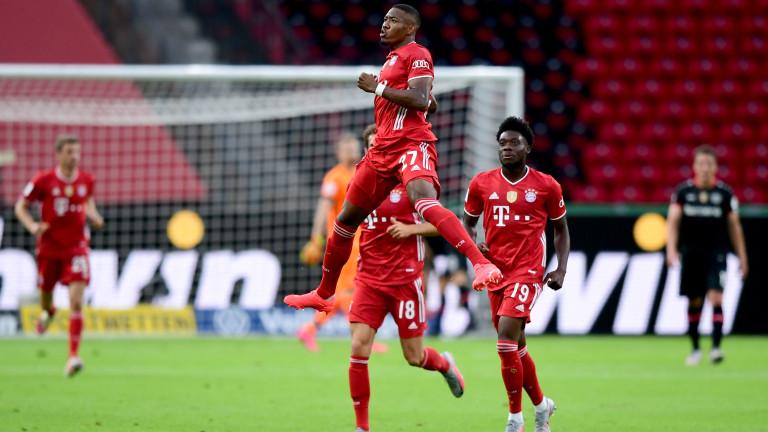 Байерн (Мюнхен) спечели финала за Купата на Германия. Шампионите триумфираха