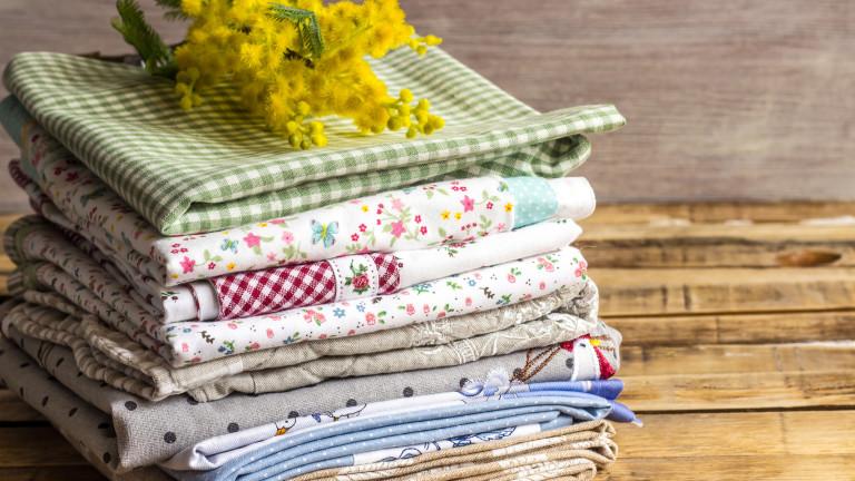 Най-правилният начин за сгъване на кухненска кърпа