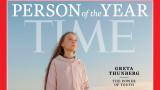 """Грета Тунберг е """"Личност на годината"""" за 2019 г. на """"Тайм"""""""