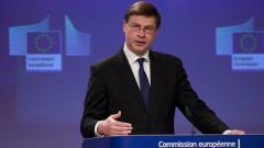Домбровскис: Влизането в чакалнята на еврото не променя нито инфлацията, нито цените