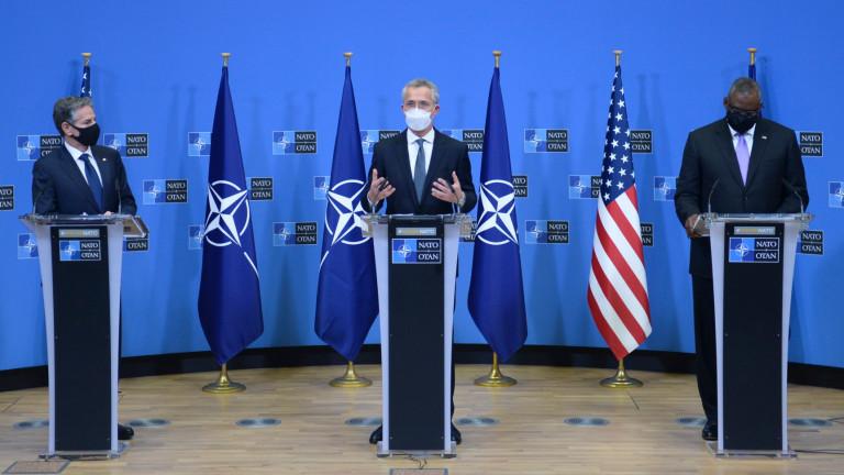 Всички в НАТО подкрепят санкциите на САЩ и осъждат дестабилизираща Русия