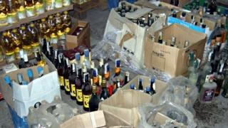 Над 8900 бутилки алкохол без бандероли иззеха в Старозагорско