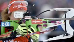 Лаура Далмайер с девета победа в световната купа по биатлон