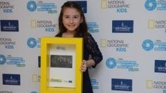 8-годишно българче на първо място в международен конкурс на National Geographic