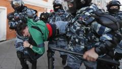 Претърсвания и арести в студиото на Навални