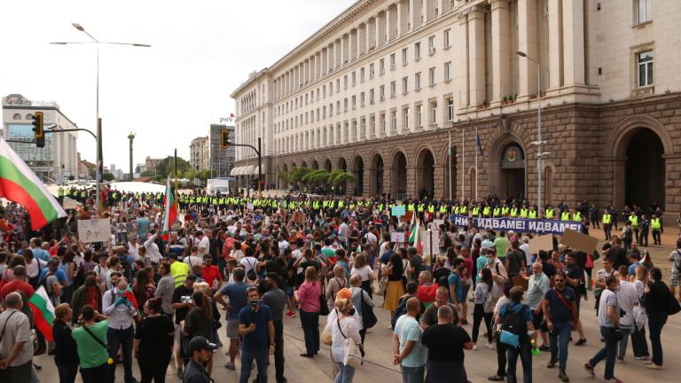 """6% протестирали и 36% готови да протестират засече """"Галъп"""" на 13 юли"""