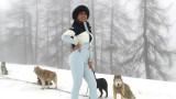 Джорджина Родригес, зимните спортове и как се забавлява половинката на Кристиано Роналдо