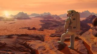 Изненадата под ледовете на Марс