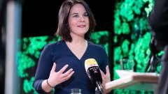 Кандидатката за канцлер на германските Зелени обещава да е твърда с Русия и Китай