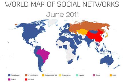 Facebook със световна доминация