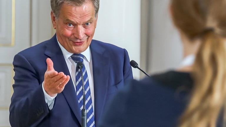 Финландия обсъди с американския президент Доналд Тръмп изграждането на газопровода