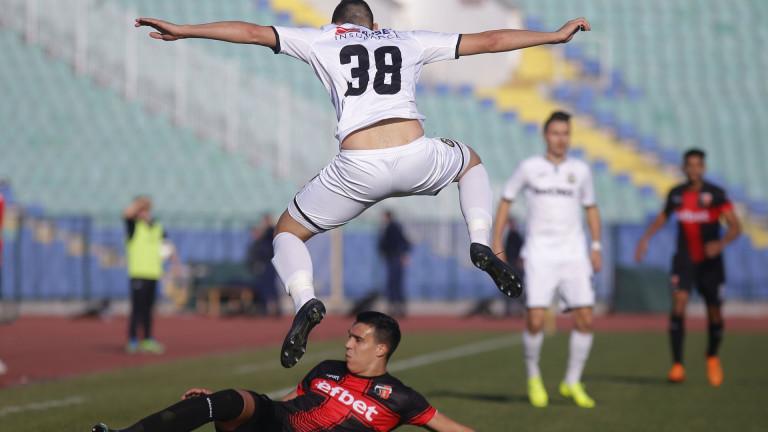 Локомотив (Пловдив) - Славия, 1:1 (Развой на срещата по минути)