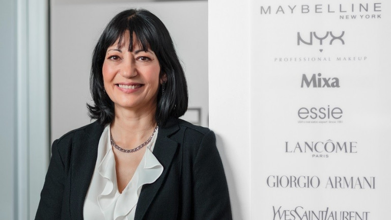 Ваня Панайотова е новият генерален директор на L`Oreal за пазарите